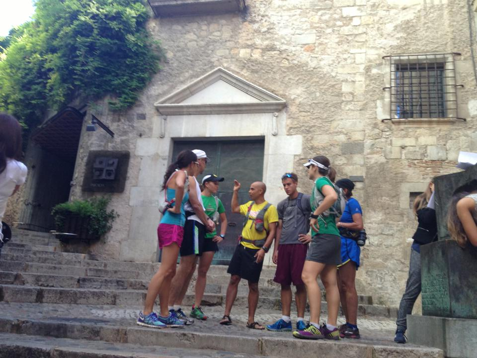 Girona first day run